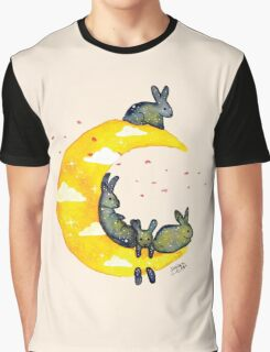 Hanging on the Moon Graphic T-Shirt