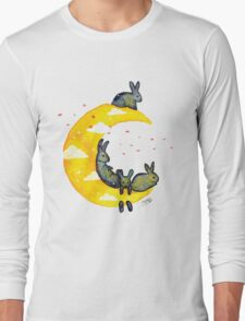 Hanging on the Moon Long Sleeve T-Shirt