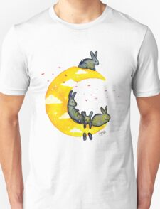 Hanging on the Moon Unisex T-Shirt