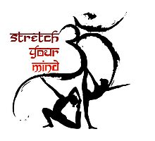 OM Yoga Stretch your mind Photographic Print