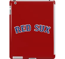 Vintage Red Sux - Red iPad Case/Skin
