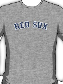 Vintage Red Sux - Red T-Shirt