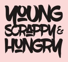 Young, Scrappy & Hungry One Piece - Long Sleeve