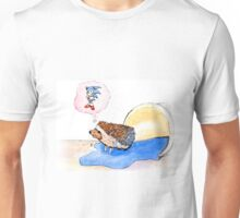 Hedgehog Dreams Big Unisex T-Shirt