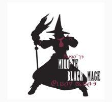 Miqo'te Black Mage by quirkyquail