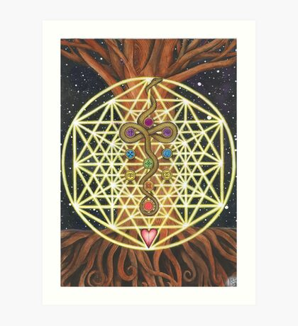Universal Tree of Life Art Print