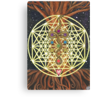 Universal Tree of Life Canvas Print