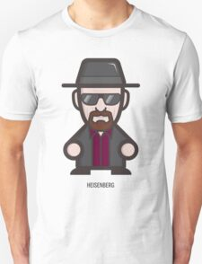 Breaking Bad Icon Set - HEISENBERG T-Shirt