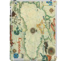 Vintage Map of The Black Sea (1559) iPad Case/Skin