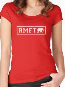 Vintage RMFT - dark Women's Fitted Scoop T-Shirt