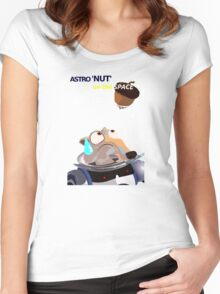 Scrat Astro Nut - Ice Age Women's Fitted Scoop T-Shirt