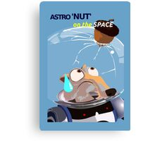 Scrat Astro Nut - Ice Age Canvas Print