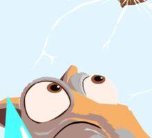 Scrat Astro Nut - Ice Age Sticker