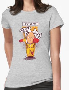 Caped Baldy Womens Fitted T-Shirt