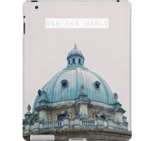 See the World iPad Case/Skin