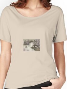 altered landscape Women's Relaxed Fit T-Shirt