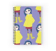 Coraline Looking  Spiral Notebook
