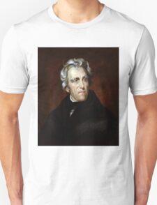 Andrew Jackson American President Unisex T-Shirt
