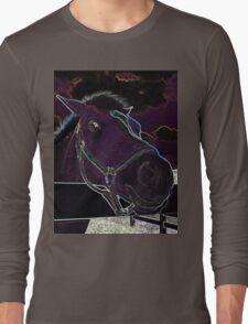 Pony Face Long Sleeve T-Shirt