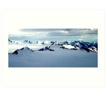 Alaska Scenery Art Print