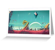No Man's Sky - Art Greeting Card