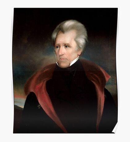 Andrew Jackson US President Poster