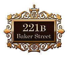221b Baker st. Photographic Print