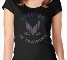 Mass Effect - SPECTRE in Training (Color) Women's Fitted Scoop T-Shirt