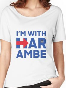 I'm With Harambe Women's Relaxed Fit T-Shirt