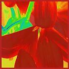 Hipeastrum Flower Duvet ,tote bags, Pillows , wall art  by Virginia McGowan