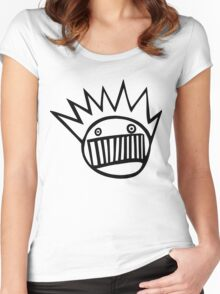 Boognish Logo Women's Fitted Scoop T-Shirt