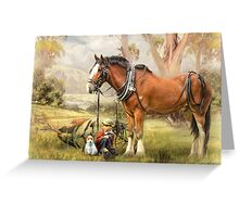 Ploughmans Lunch Greeting Card