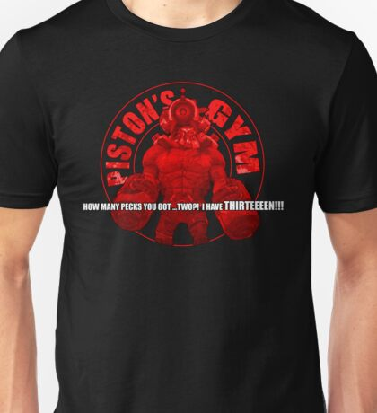 PISTON'S GYM Unisex T-Shirt