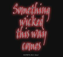 Something Wicked; Macbeth; Shakespeare Play, Second Witch by TOM HILL - Designer
