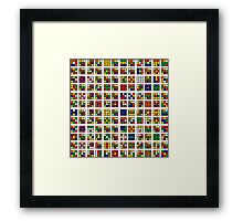 Puzzle Me This Framed Print