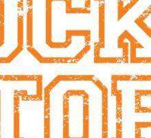 Vintage Rocky Top - orange Sticker