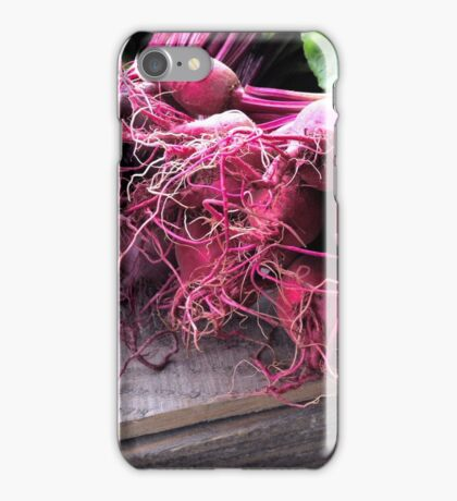 Farmers' Market- beets iPhone Case/Skin