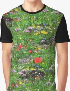 Wildflower Meadow Graphic T-Shirt
