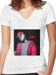 Slump god  Women's Fitted V-Neck T-Shirt