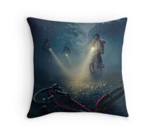 The boy are vanishes Throw Pillow