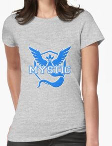 Team Mystic Varsity Womens Fitted T-Shirt