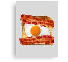 Toast, Egg, Bacon Canvas Print