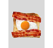 Toast, Egg, Bacon Photographic Print