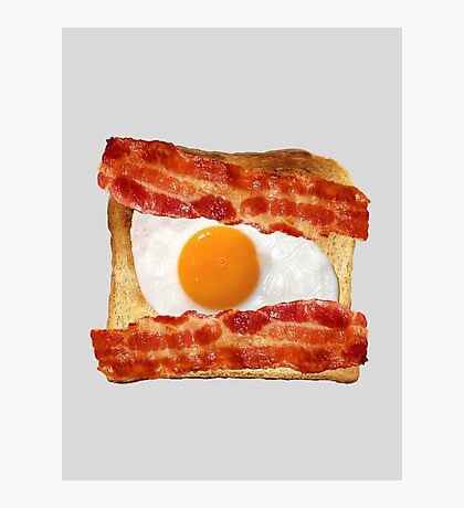 Toast, Egg, Bacon Photographic Print
