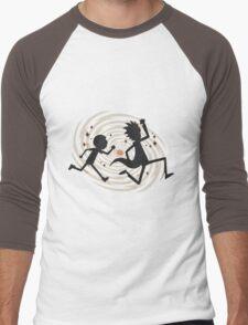 running rickmorty Men's Baseball ¾ T-Shirt