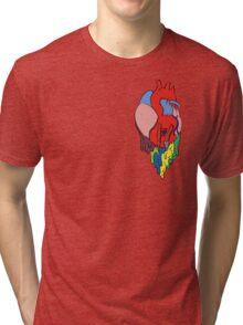 twenty one pilots - self titled - heart Tri-blend T-Shirt