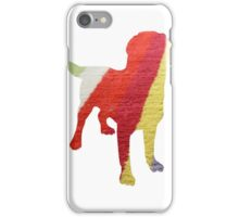 Stripy Dog iPhone Case/Skin