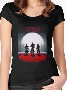 The stranger Things original series Women's Fitted Scoop T-Shirt