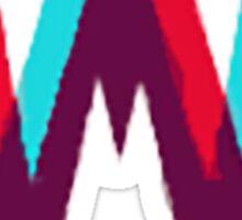 """""""W"""" Kdrama Logo  Sticker"""