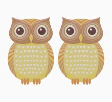 Twin Owls Kids Clothes